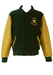 Green & Ochre Baseball, Letterman Jacket - XL/XXL