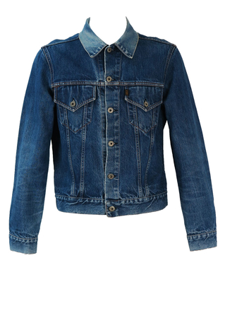 Replay Blue Denim Jacket - M