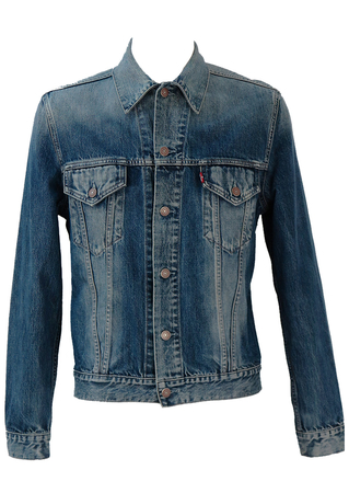 Levis Blue Denim Jacket - M