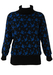 Black Jumper with Blue Flying Ducks - M