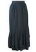Blue & White Ditsy Print Floral Midi Skirt - S