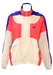 Nike Hooded Track Jacket in Neon Pink, Purple & White – M