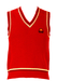 Ellesse Red V-Neck Tank Top - XS/S