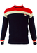 Fila Blue, Red and White Wool Jumper - S/M