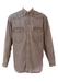 Levis Grey Denim Western Shirt - L/XL