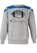Champion Grey & Blue Sweatshirt with USFL Imagery - M/L
