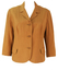 Vintage 1960's Part Linen Brown Jacket - L