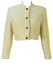Cropped Cream Wool Jacket - M/L