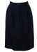 Navy Blue Luciano Soprani Pencil Skirt - S