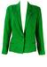 Mani Emerald Green Linen Jacket - M/L