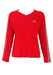 Adidas Red Long Sleeve Track Top - S/M