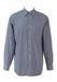 Giorgio Armani Blue and White Striped Shirt - L/XL