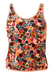 Missoni Sport Abstract Pattern Vest Top in Pink, Yellow & Blue - S