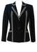 Navy Blue Blazer with Grey Stripe Design - S/M