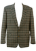 Pierre Cardin Grey, Blue and Green Check Blazer - XL/XXL