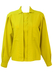 Marella Long Sleeve Lime Green Blouse - L