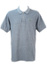 Lacoste Mottled Blue and White Polo Shirt - XL