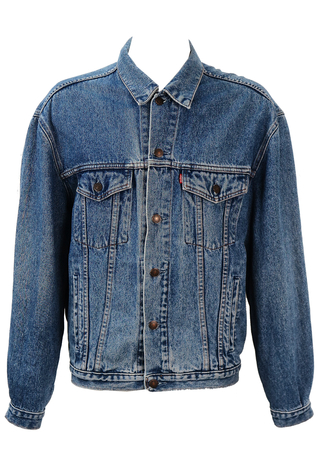 Levis Blue Denim Jacket - L/XL