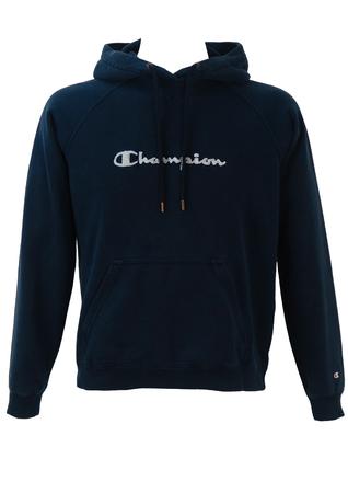 Champion Navy Blue Hoody - M/L