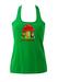 Fiorucci 'Love Therapy' Green Vest with Gnome Graphic - S/M