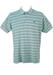 Lacoste Light Blue Striped Polo Shirt - M/L