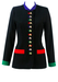 Gai Mattiolo Tunic Jacket with Decorative Jewelled Bug Buttons - S