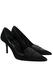 Valentino Garavani Black Suede & Patent Leather Pointed Toe Stiletto Heel Shoes - UK Size 4