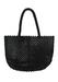 1960's Style Black Beaded Handbag