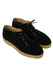 Black Suede Lace Up Espadrilles - UK Size 4