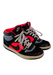 Nike Black Suede & Neon Pink High Top Trainers - UK Size 6
